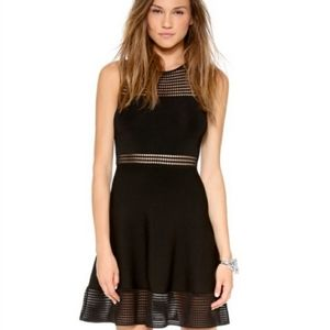 Torn by Ronny Kobo Fit&Flare Eyelet Dress XS